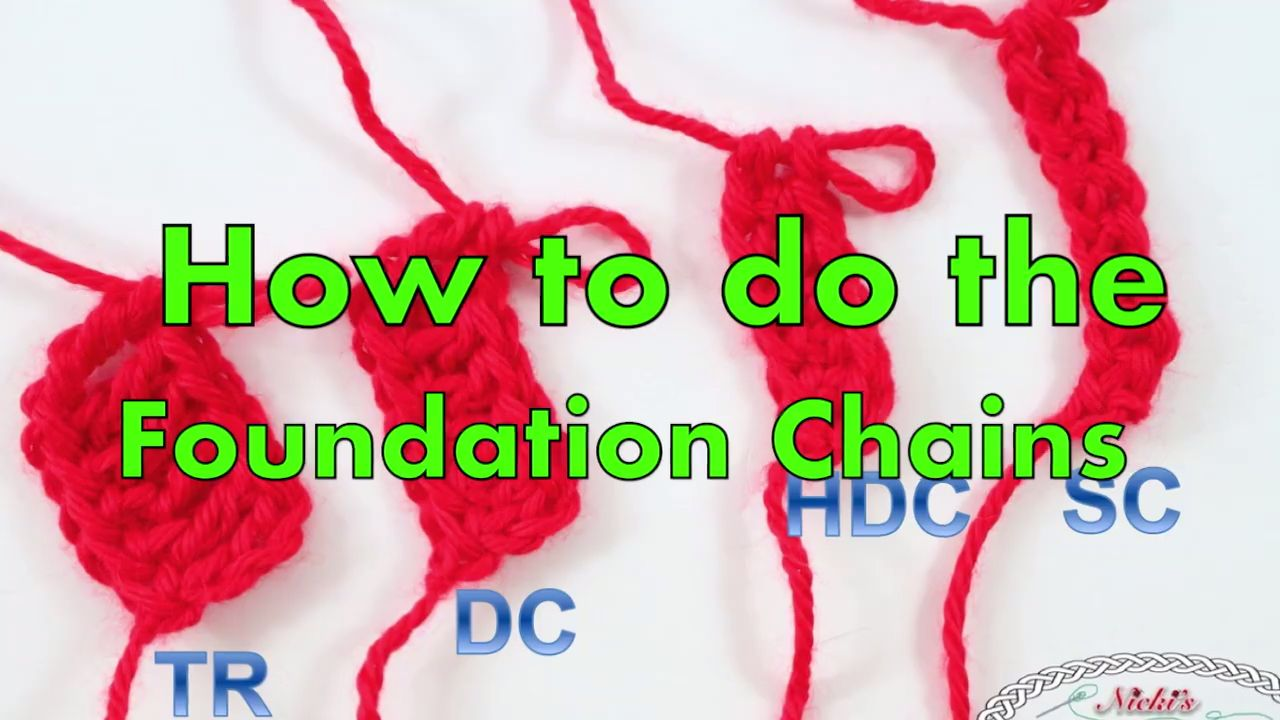 Photo of Crochet the Chainless Foundation Chains