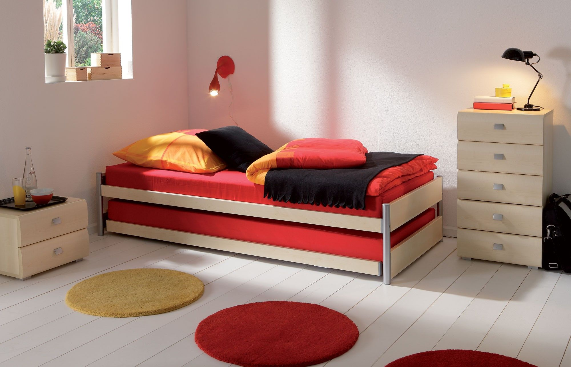 Hasena Storage Clic Modern Guest Bed Head2bed Uk