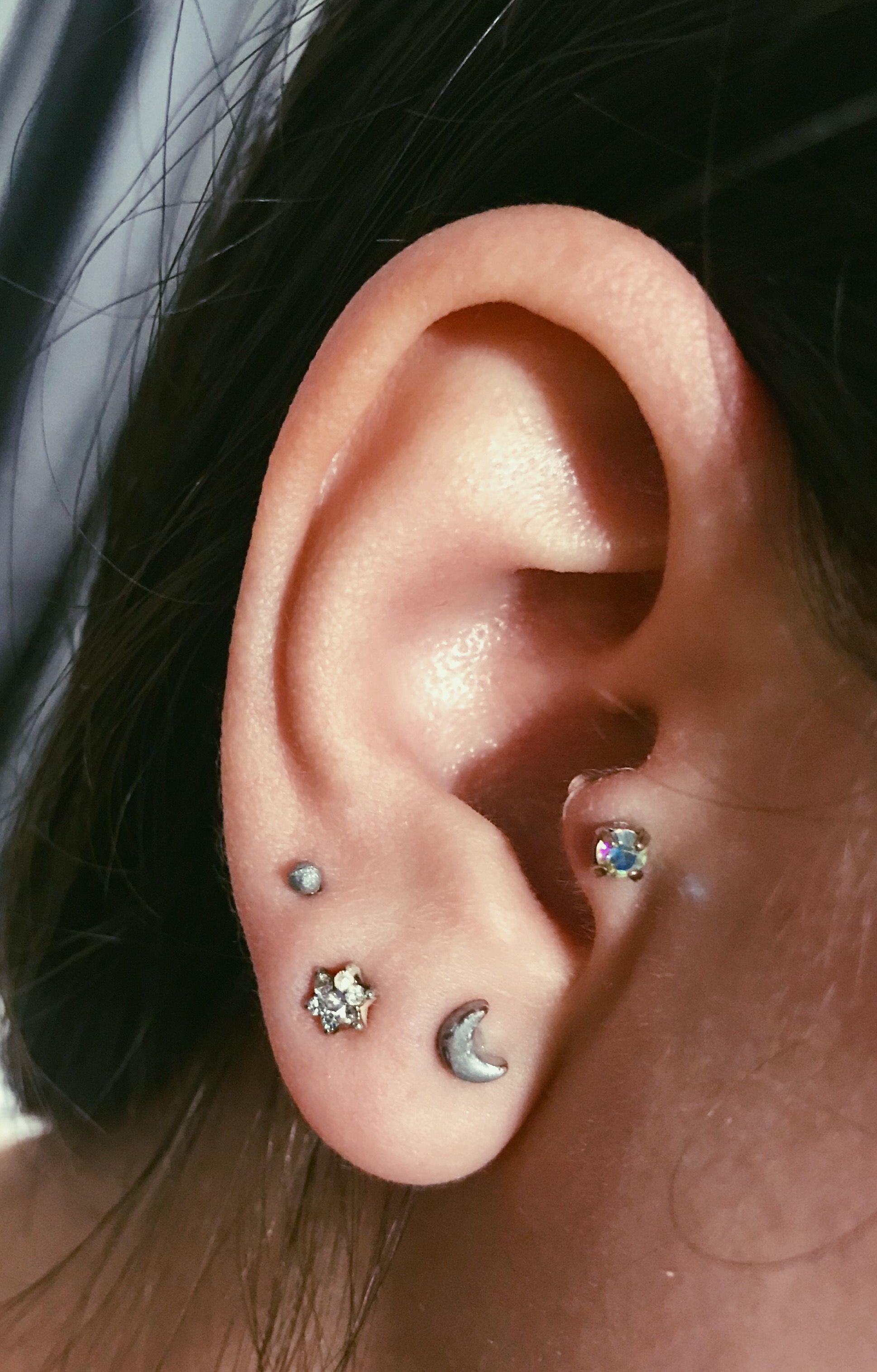 Snug piercing ideas  Piercings tragus  nails hair u make up  Pinterest  Piercings