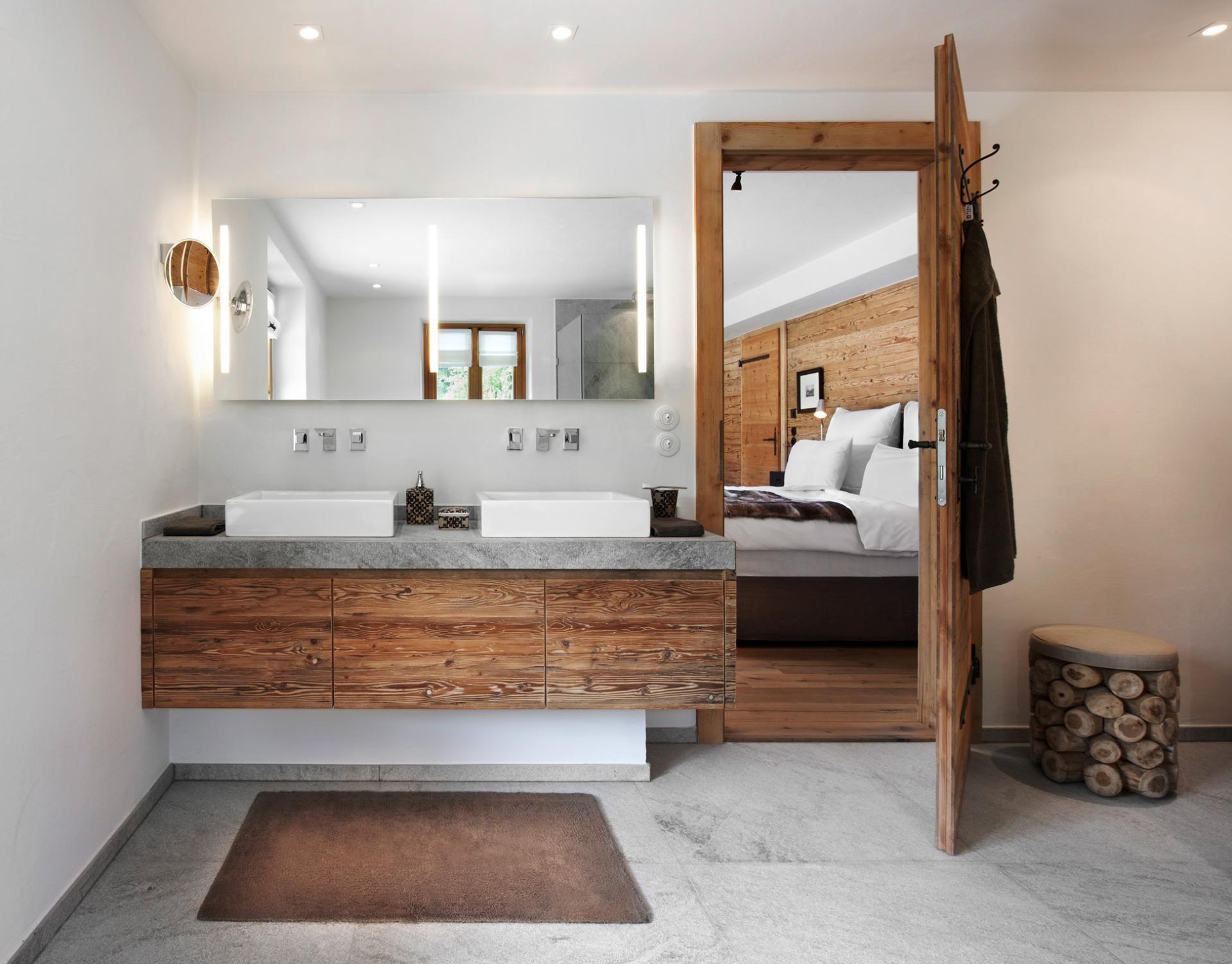 Badezimmer Modern Mit Holz
