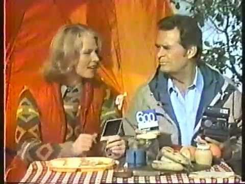 James Garner & Mariette Hartley 1982 Polaroid Sun Cameras ...