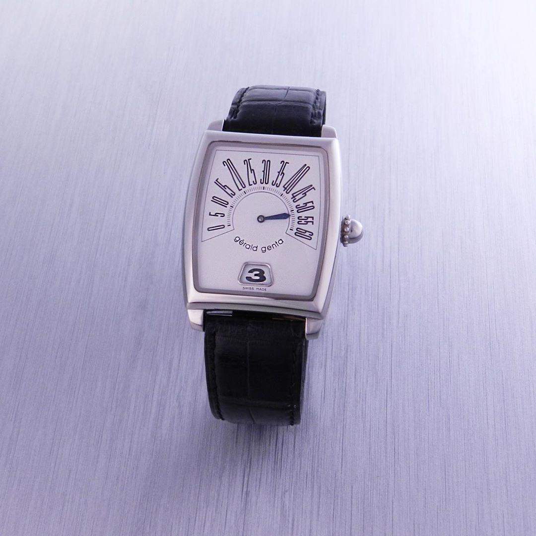 Gondolo Leilões On Instagram Relógio Gerald Genta Retro Solo Jump Hour Lote 310 Leilão Gondolo Novembro 2019 Relógio Jaeger Watch Accessories Watches