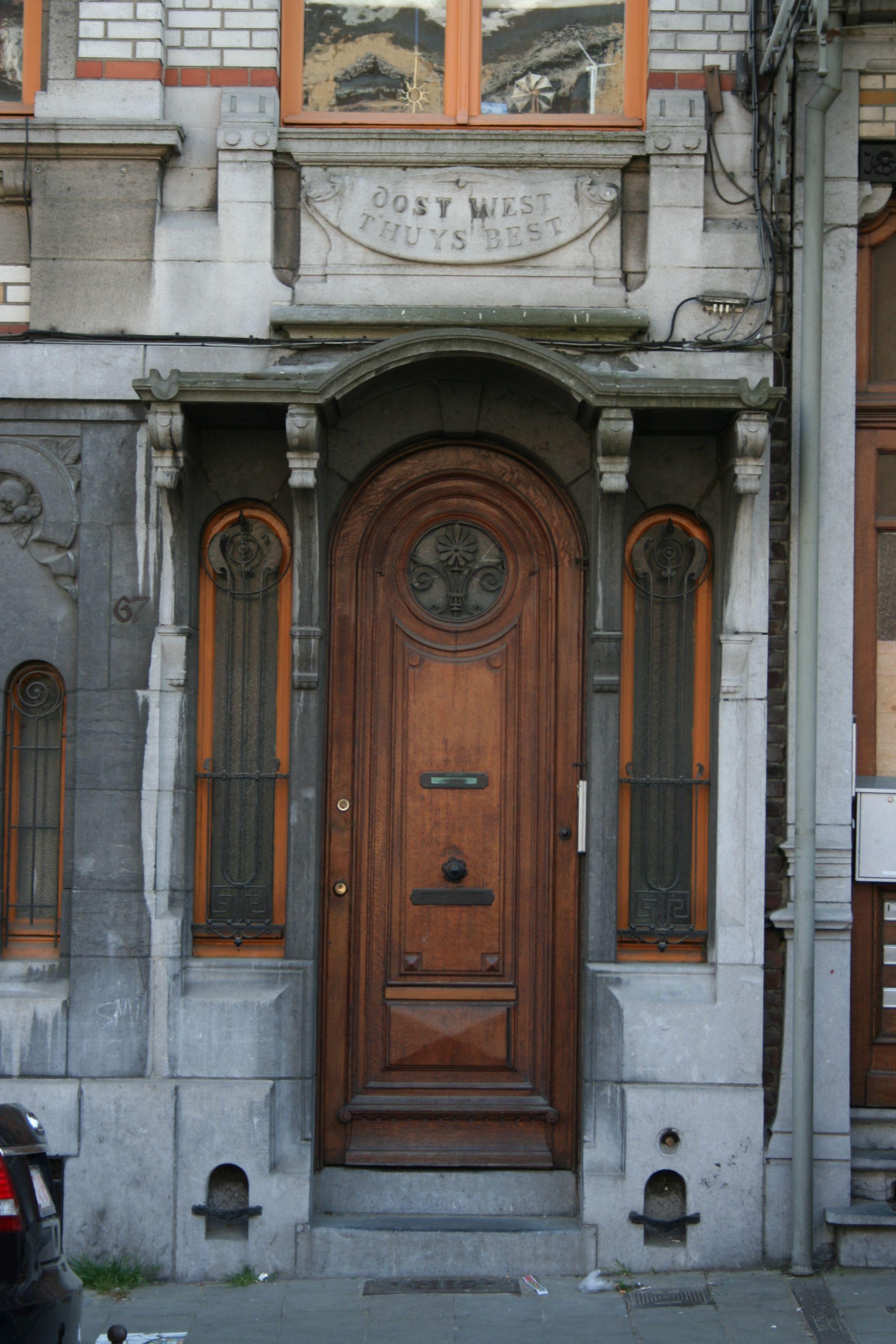 Porte art nouveau bruxelles art nouveauart deco doors pinterest