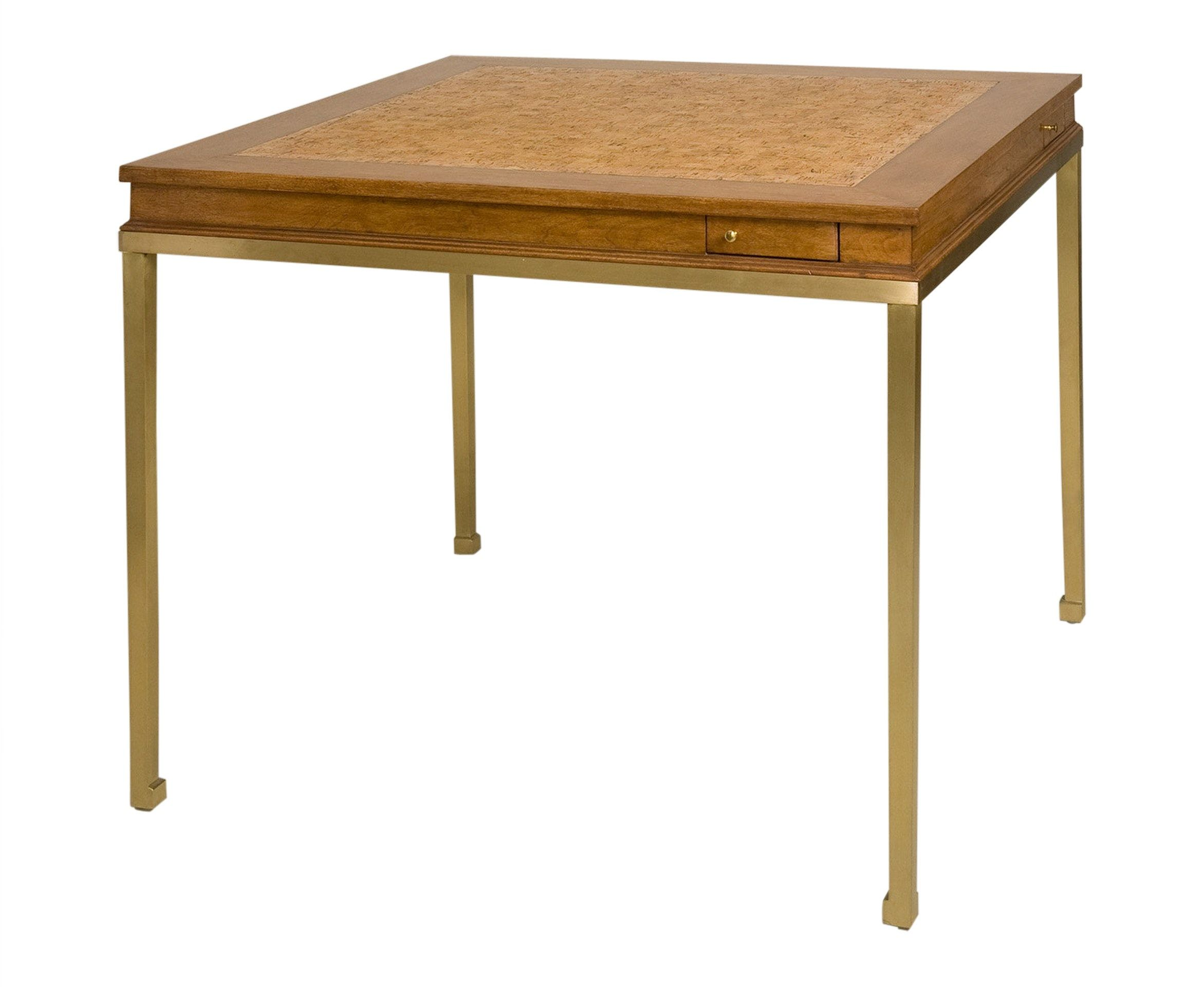 Buy Gregory Game Table By West Knoll Collection Designer Furniture From Dering Hall S Collection Of Contemporary Transit Modern Game Tables Table Games Table