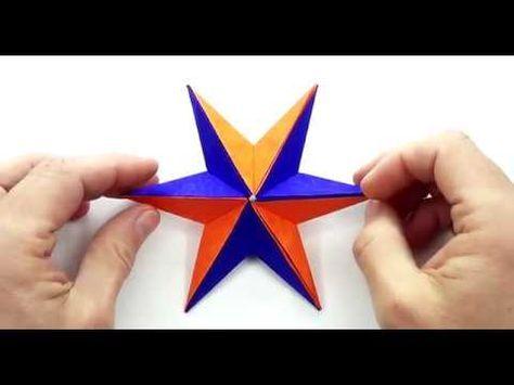 How to Make Paper Star | Origami: Christmas Star | DIY | Christmas ...