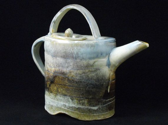 Teapot Pottery Teapot  Unique Ceramic от ManifestMeditations