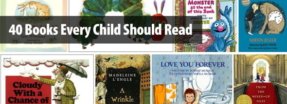 40 Books Every Child Should Read