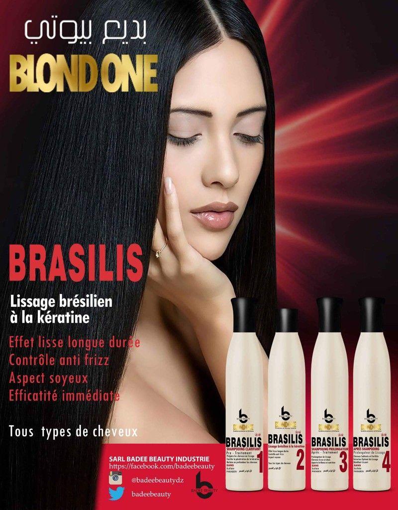Keratine pour lisser les cheveux
