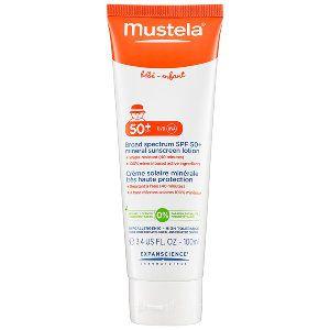 Mustela - Broad Spectrum SPF 50+ Mineral Sunscreen Lotion #sephora