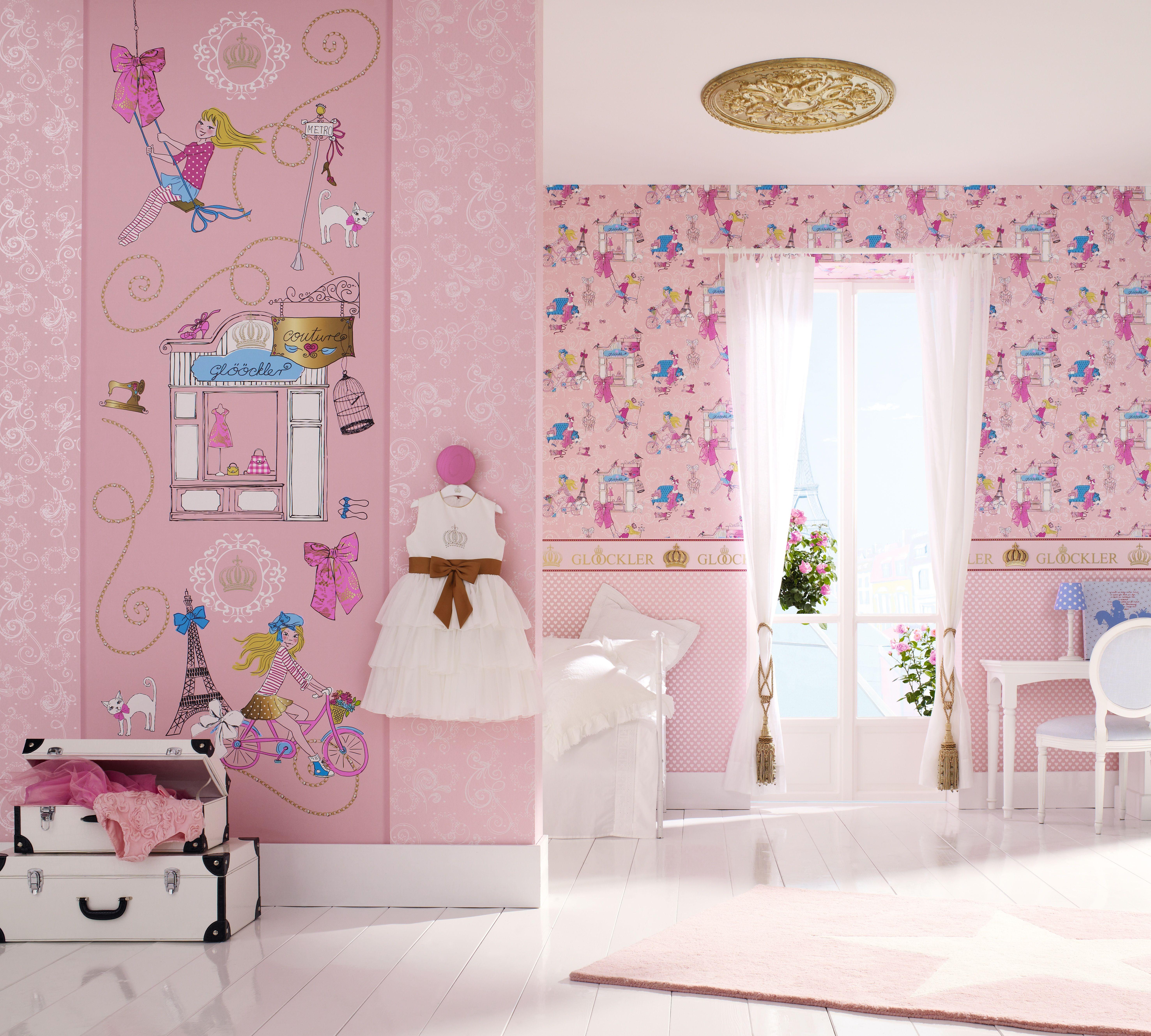 Marvelous Tapetendesigns f r Kinderzimmer Neue Kollektion Kinderttapeten u CHILDRENs PARADISE von Harald Gl ckler Die