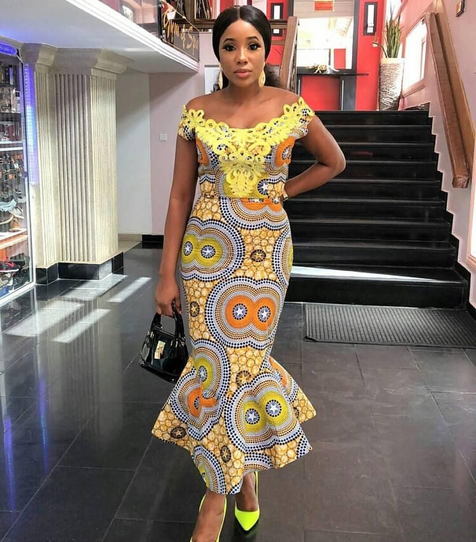 African Fashion Nigerian Fashion Formal Ankara African Prints Nigerian Style African Dress