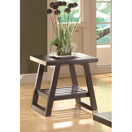 Coaster Home Furnishings 701867 Casual End Table Cappuccino Size