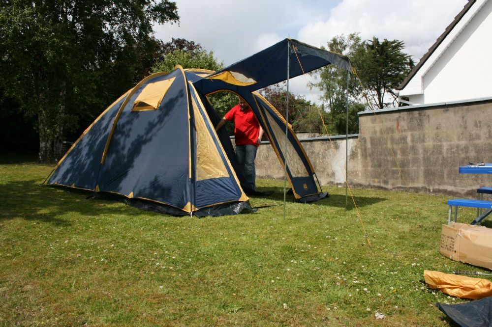 Tent from O Meara C&ing - Yucatan is designed to give extra height inside the tent & Tent from O Meara Camping - Yucatan is designed to give extra ...