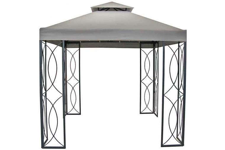 sc 1 st  Pinterest & 8u0027 x 8u0027 Steel Frame Gazebo with High-Grade 300D Canopy