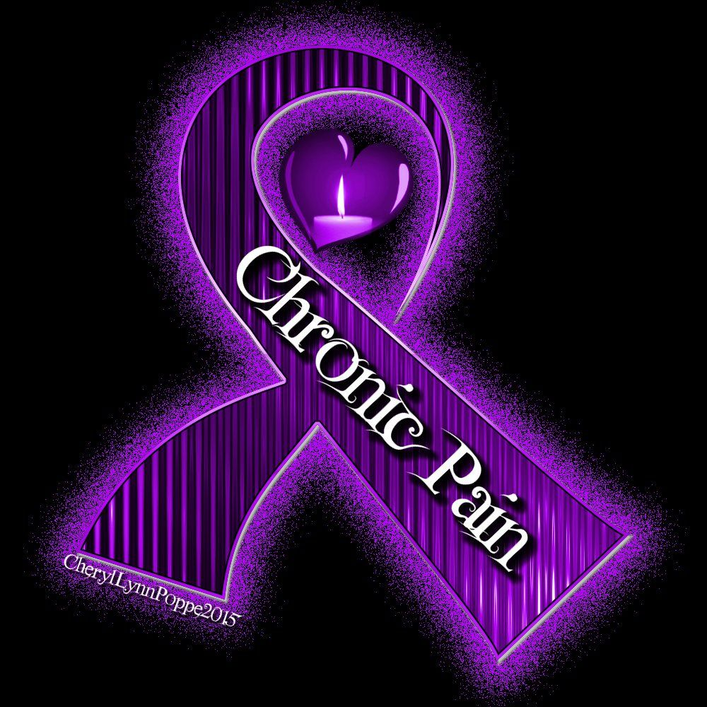 Chronic Pain Ribbon