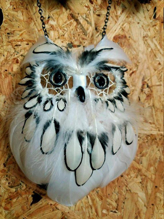 Owl Dream Catcher White Animal Dream Catcher Bohemian Dream Catcher Impressive Animal Dream Catchers