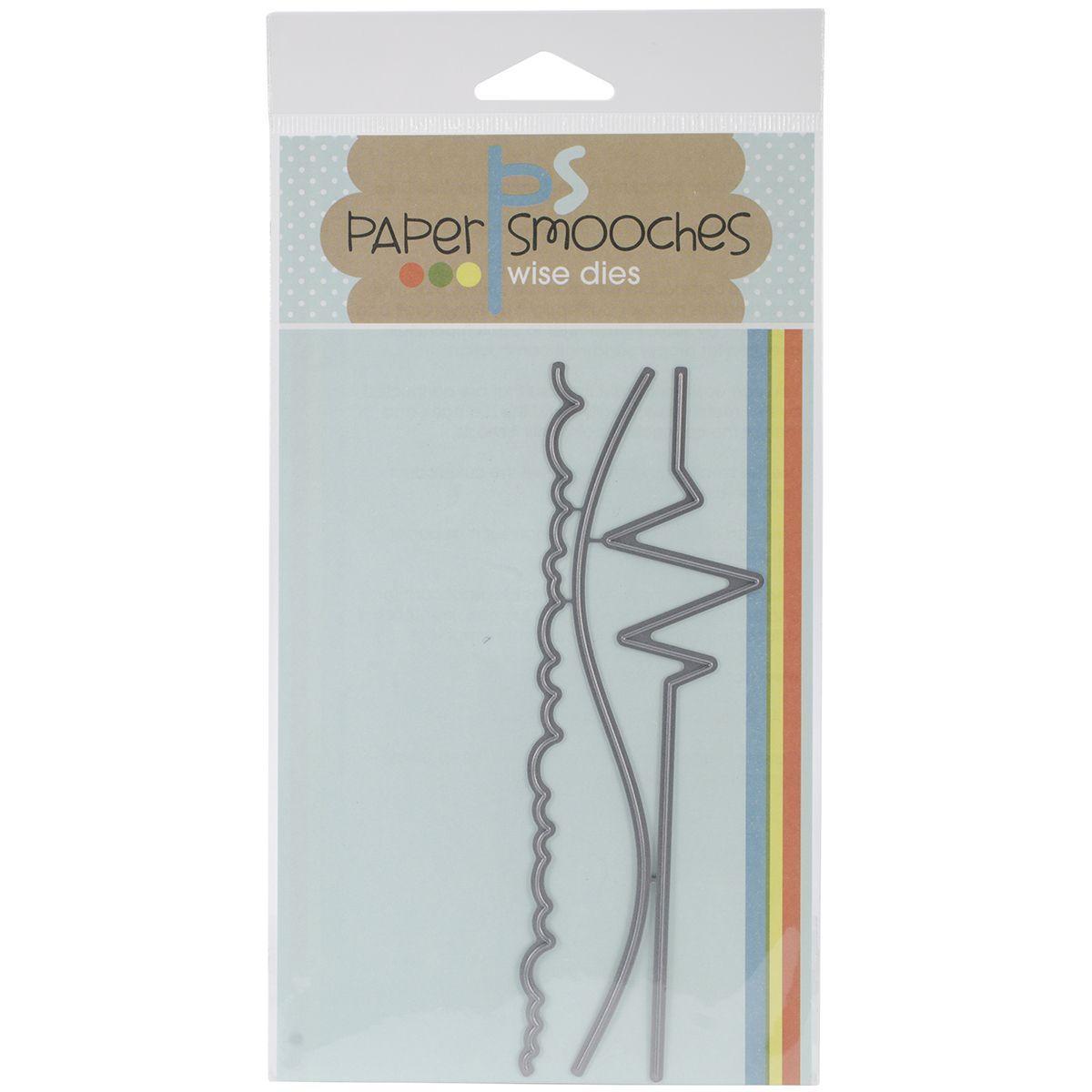 Paper Smooches Die-Borders 1
