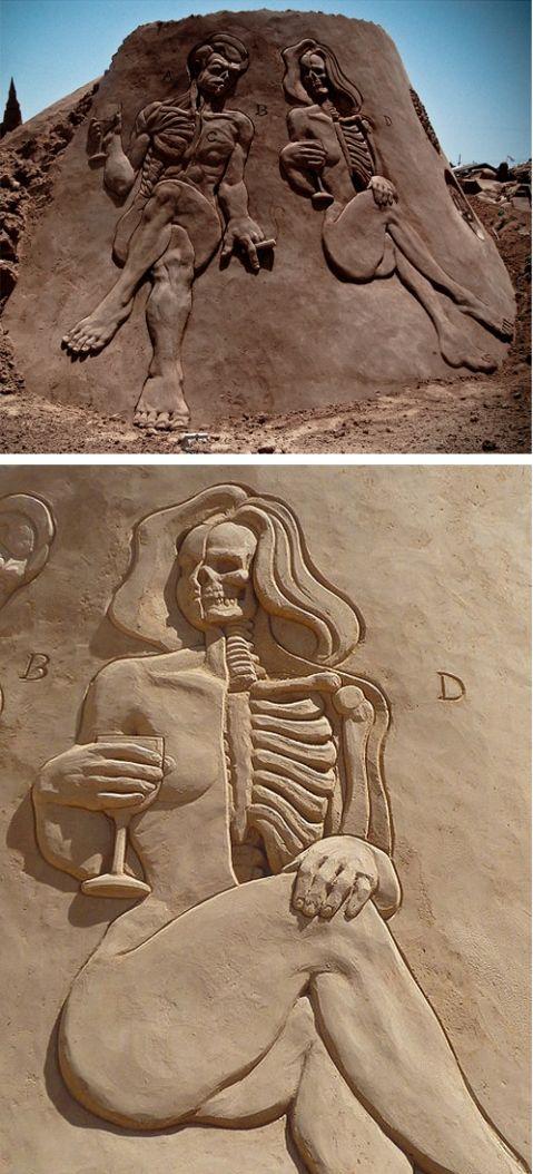 Anatomy SandSculpture