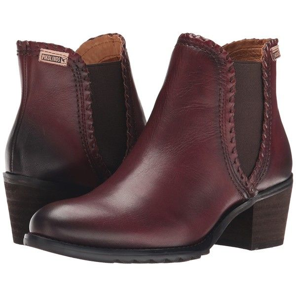Pikolinos Andorra 913-8544 Women's Boots ($80) ❤ liked on Polyvore  featuring shoes