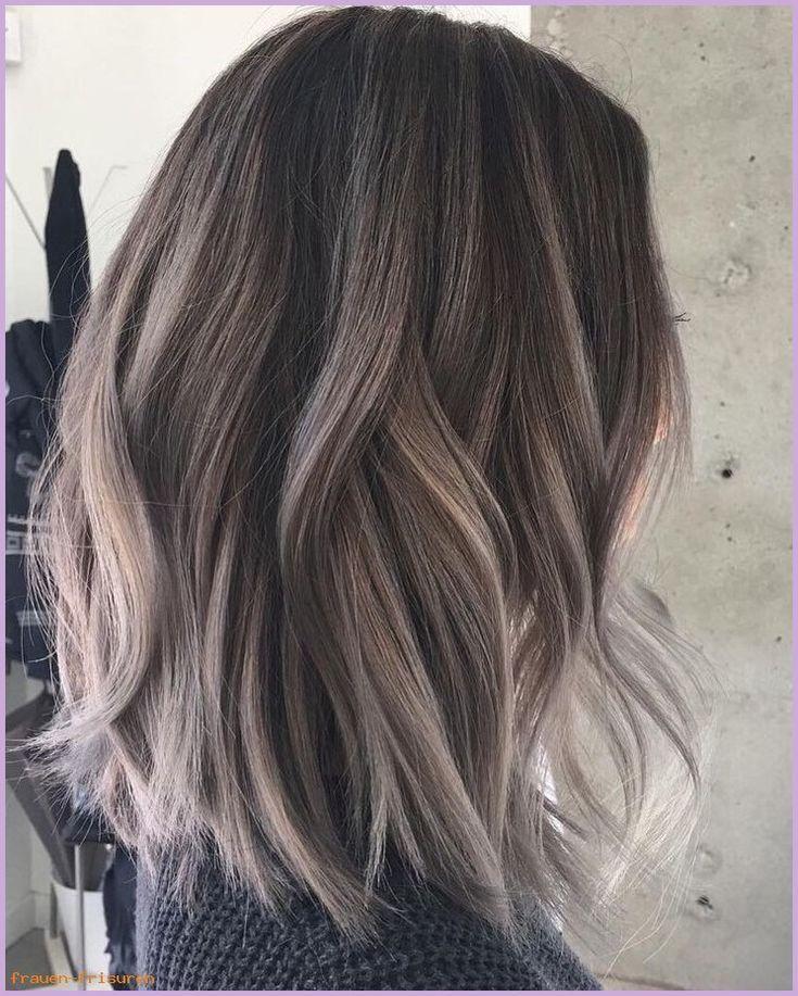 Braune Frisuren Fur Frauen 2019 Haarfarbe Mittellang New