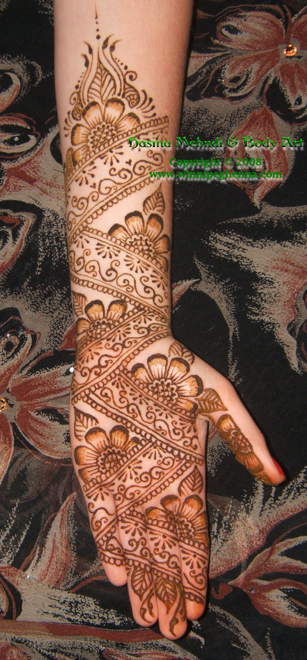 Bridal mehndi / henna designs 2 - Winnipeg Henna by Hasina Mehndi & Body Art