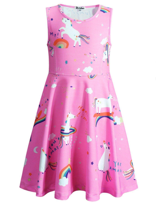 66e8a5ab57b0 Jxstar Girls Unicorn Dress