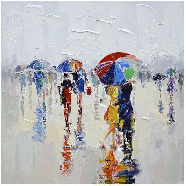 Cadre contemporain, 80 x 80 cm, peinture