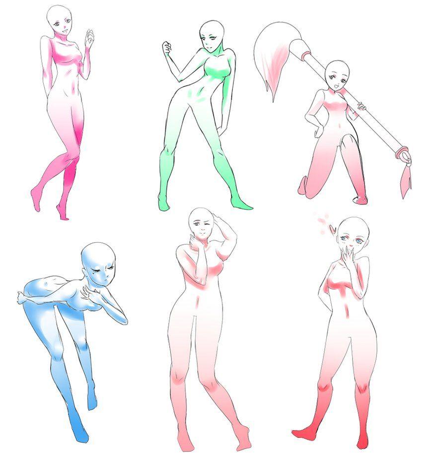 Girl Base Sketch By Helweert On Deviantart Art Reference Poses Manga Poses Anime Art Beautiful