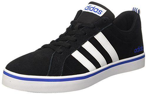Adidas B74499, Zapatillas Hombre, Negro (Cblack/Ftwwht/Azule), 46 2/3 EU