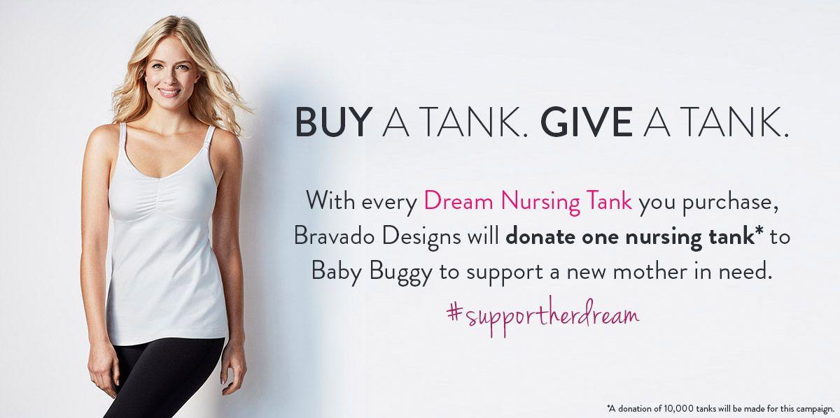43d1b210d81be With every Dream Nursing Tank you purchase, Bravado Designs will donate one nursing  tank*