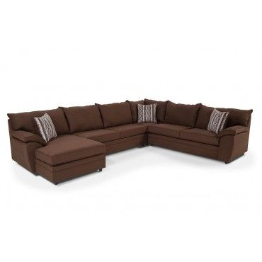 Saturn 4 Piece Right Arm Facing Sectional SofasDiapersLiving Room FurnitureCurrently