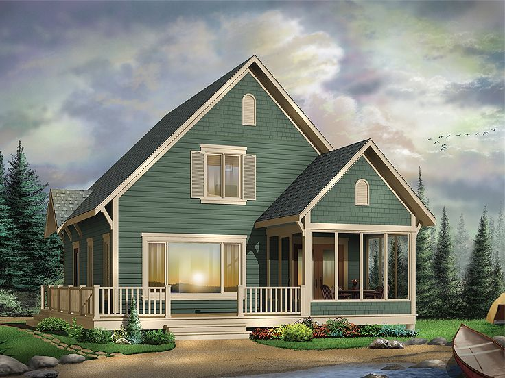 Plan 027h 0201 Cottage House Plans Cottage Style House Plans Country Style House Plans