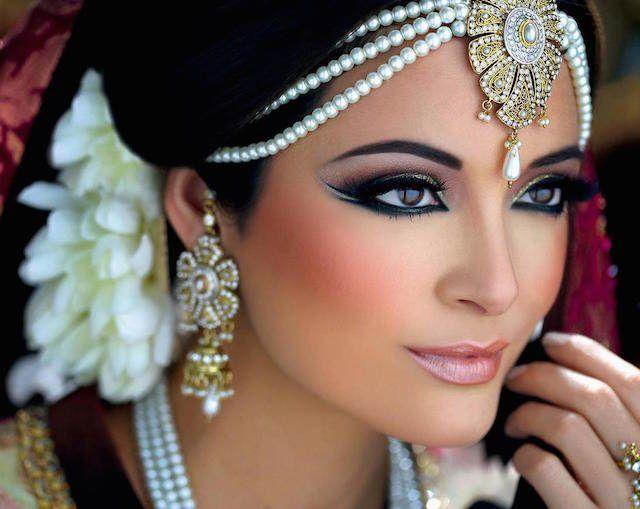 maquillaje de arabe mujer