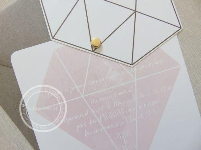 Nueva colección de invitaciones de boda 2016  Diseño de Tu día Con Amor