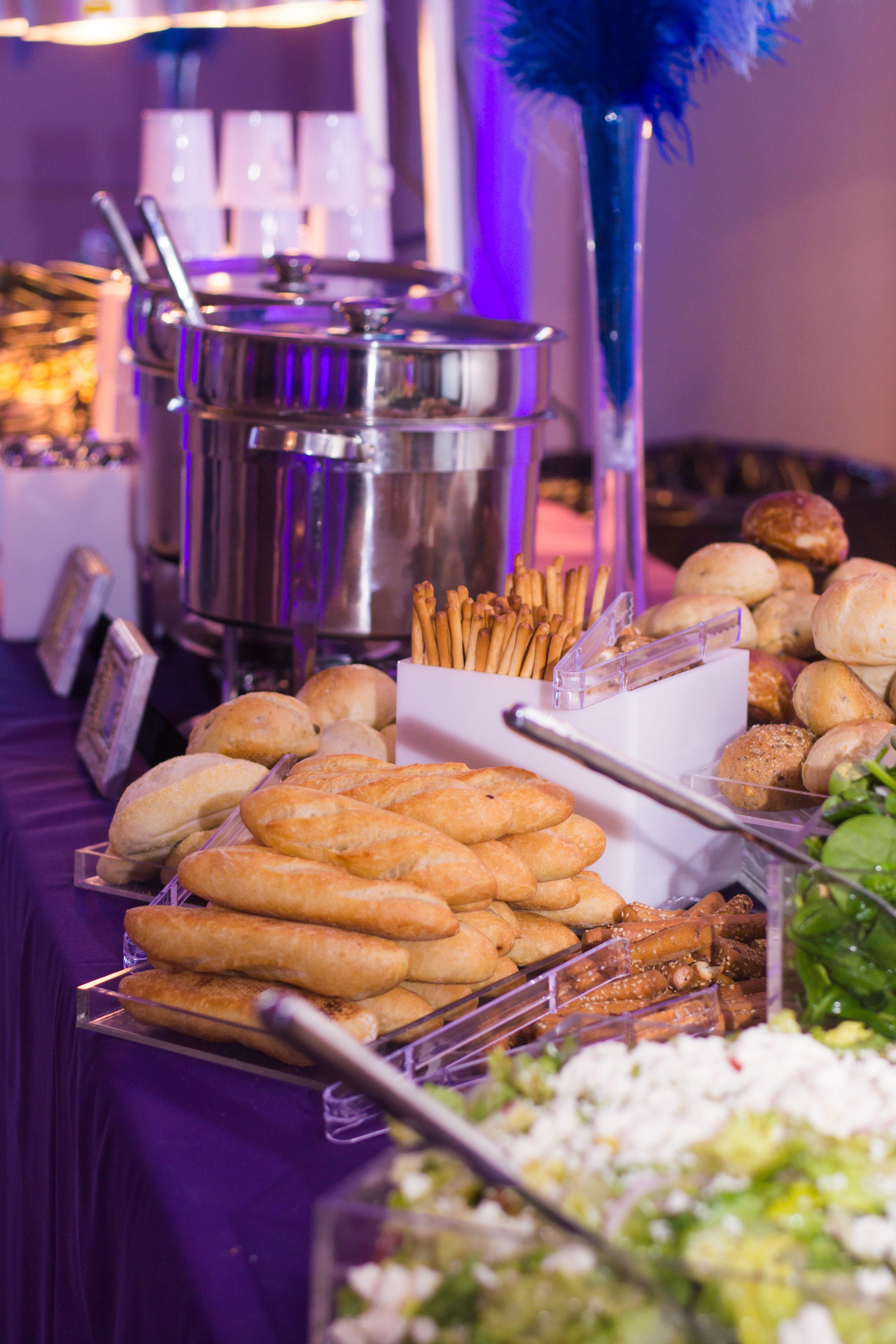 Soup Station With Bread Display Wedding Buffet Food Wedding