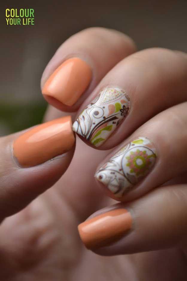 42 Cool Summer Nail Art Ideas Summer Nail Art Easy Nail Art And