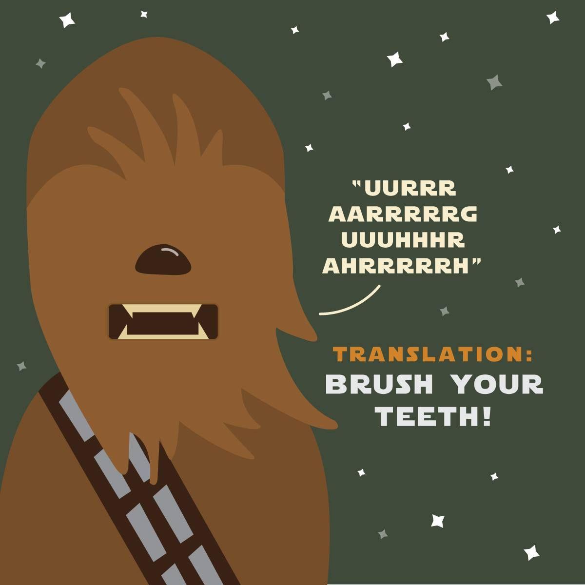 May Clean Teeth Be With you Dental kids, Dental fun