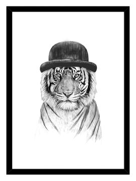 Welcome to the Jungle (Framed) from Fashion Trend at Home: Animal Prints on Gilt