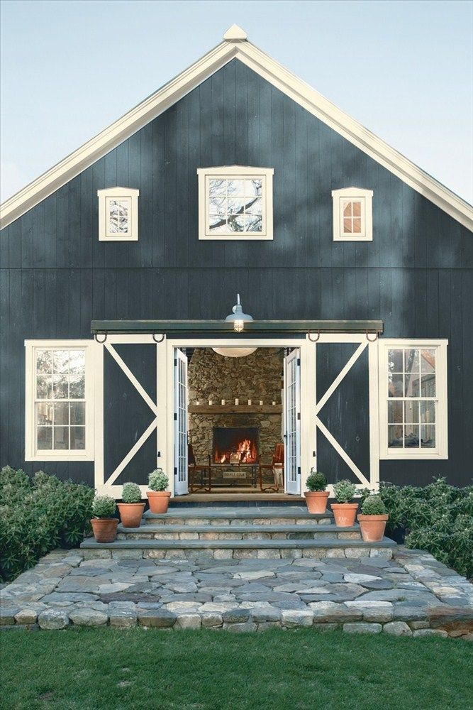 27 Modern Farmhouse Exterior Design Ideas For Stylish But Simple Look: Building A House, Metal Building Homes, Pole Barn Homes