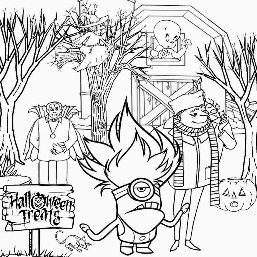Ghost Drawing Kids Coloring Pages Crayola Trick Or