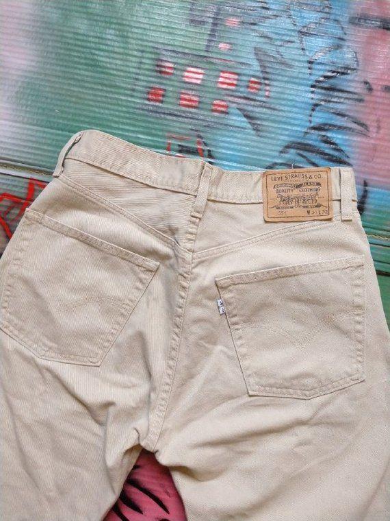 90's Vintage Levi's Jeans Pants Jeans Not Gucci Louis