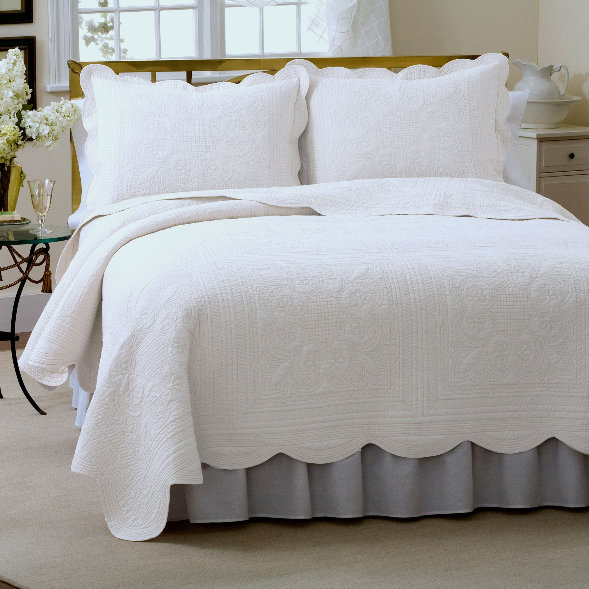 blankets blanket quilt and product coverlets cotton quilts white organic collection comforter