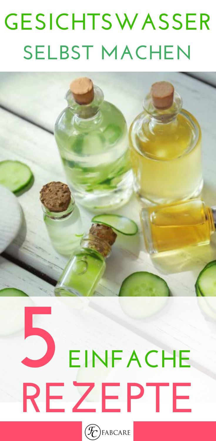 Photo of Make your own tonic – 5 simple recipes for skin toners