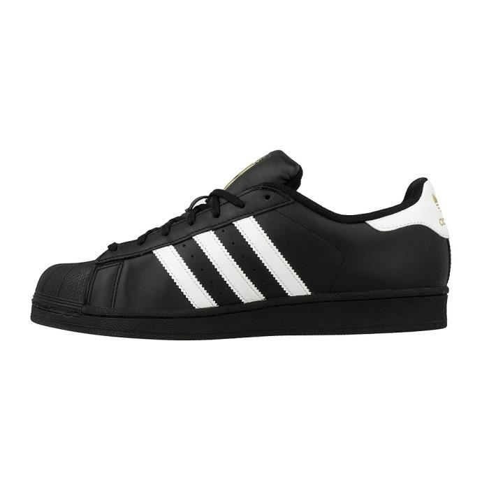 ADIDAS ORIGINALS Baskets SUPERSTAR B27140 - Mixte - Noir ...