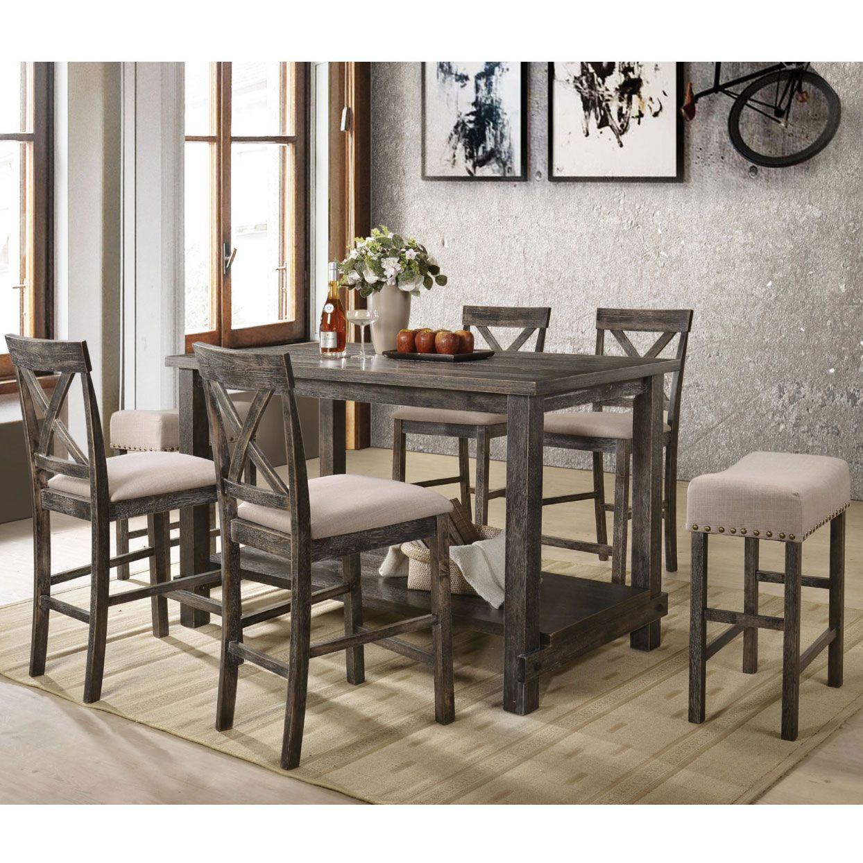 27++ 60 counter height dining table Best Seller