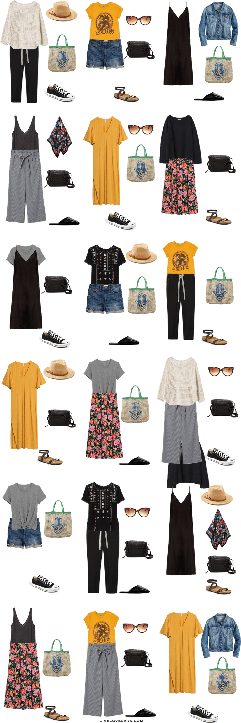 What to Pack for a Bulgarian Beach Vacation #travelwardrobesummer