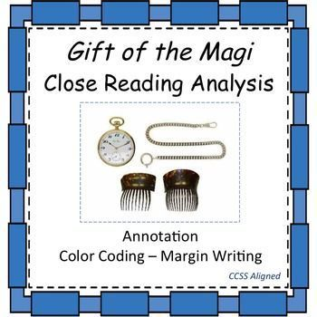 the Magi - Close Reading Analysis FREE Gift of the Magi - Close Reading Analysis. Teach students the importance of annotation targeting vocabulary, textual evidence for setting and characterization as well as allusions.FREE Gift of the Magi - Close Reading Analysis. Teach students the importance of annotation targeting vocabulary,