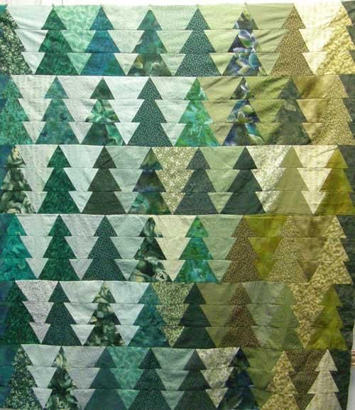 Trees With Ease | Woods, Patterns and Tree quilt : pine tree quilts - Adamdwight.com