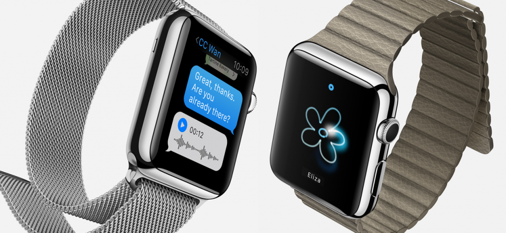 Over Two Millions face to see the time. Each Apple watch