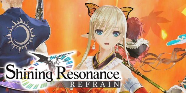 Seht euch ein Unboxing zu Shining Resonance Refrain Draconic Launch Edition an